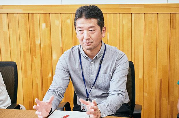 遠野市産業部六次産業室の菅原 康さん。