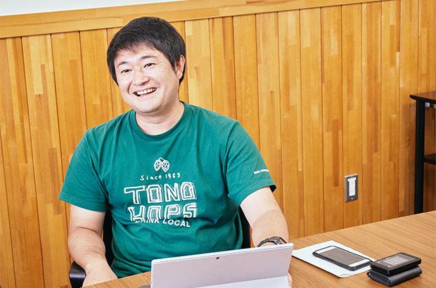 キリンCSV戦略部絆づくり推進室の浅井隆平さん。