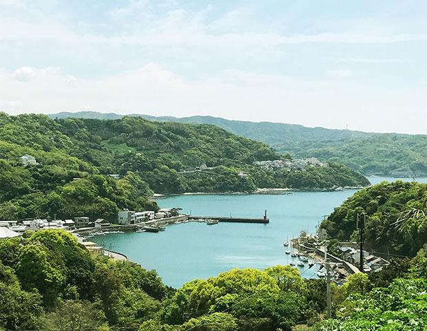 和歌山県海南市の風景