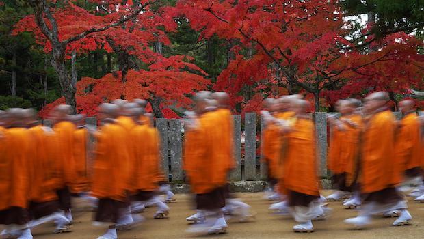 高野山真言宗の僧侶たち