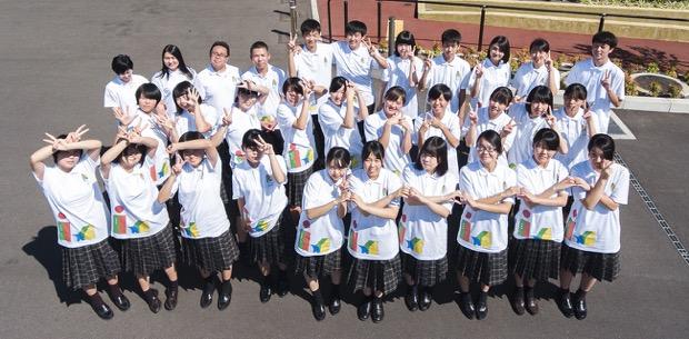 宮崎県立小林秀峰高校の生徒
