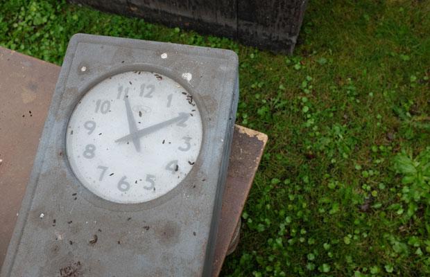 時の止まった朝日駅に、新しい時間が流れ出した。