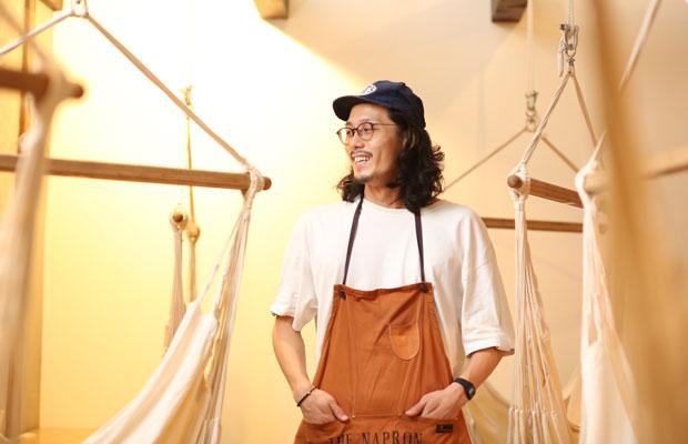 オーナーの坂上翔太さん。
