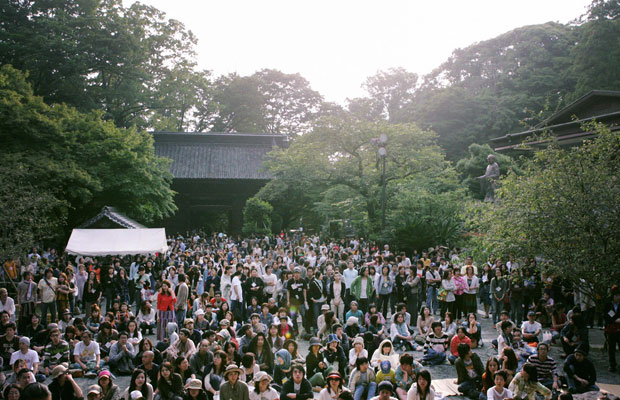 ROOT CULTURE Festival 第0弾 新月祭 at 妙本寺(写真提供:ROOT CULTURE)