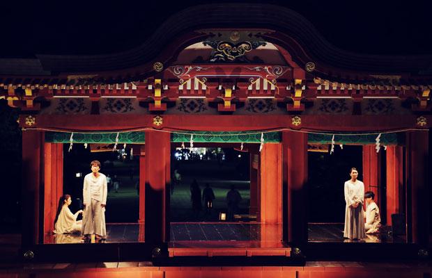 ルートカルチャー meets 鶴田真由『花音』at 鶴岡八幡宮