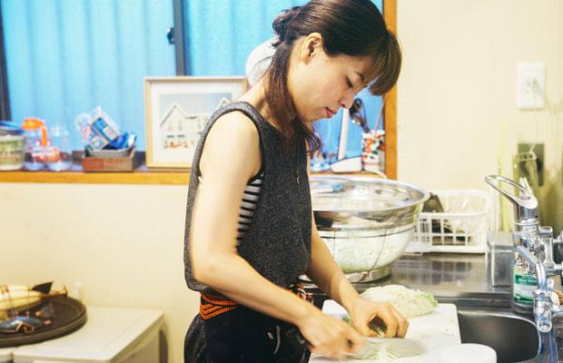 復活オープン以来、仕込みから焼きまで基本的にはすべての作業を椿山さんひとりで行っている。