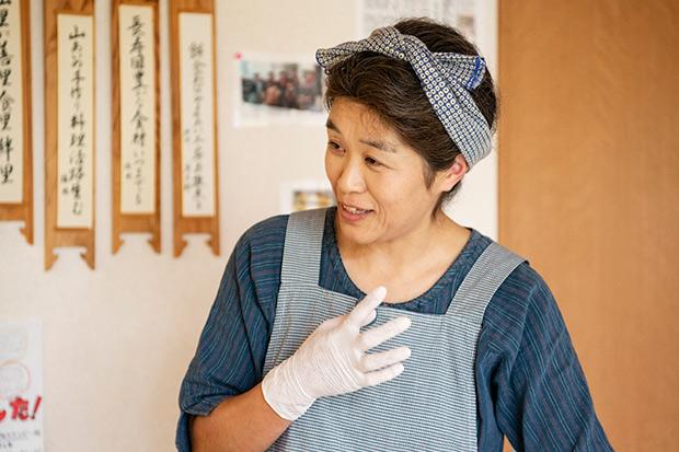 話をうかがったのは、やまあい工房事務局の伊東幸子さん。
