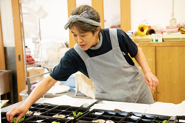 伊東幸子さん。