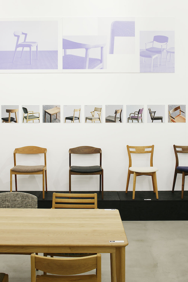 〈MEETS! FURNITURE〉展示の様子