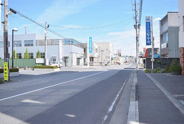 〈木村書店〉がある八戸市小中野地区