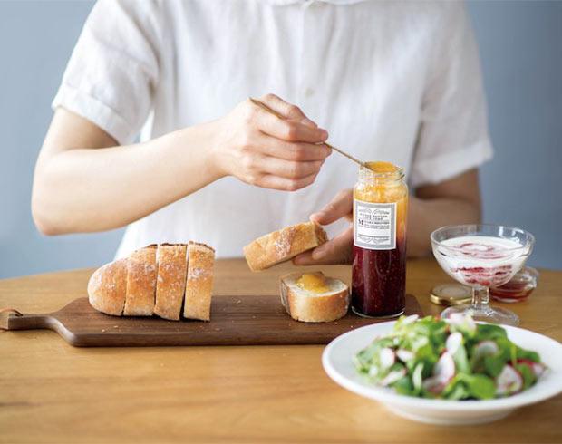 朝食のバゲットやプレーンヨーグルトに添えて。