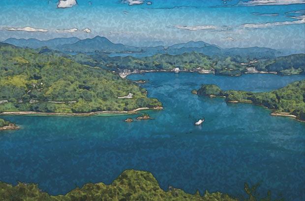 〈The Inland Sea〉のラベル