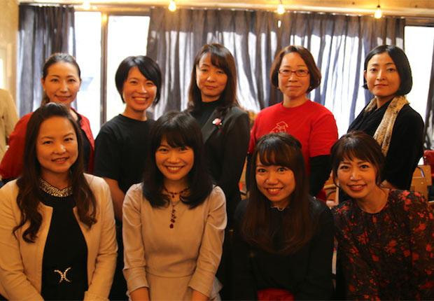 本日大活躍の起業家美女たち