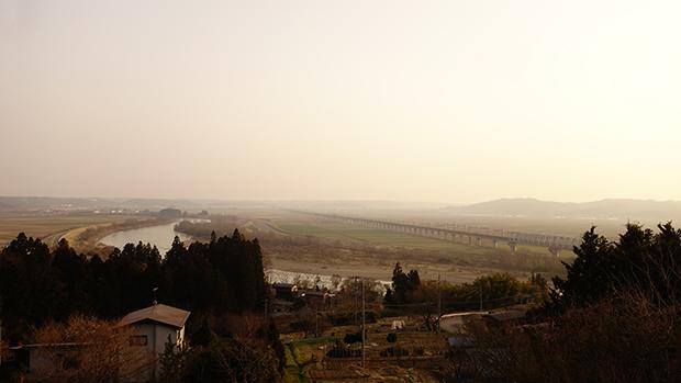 奥羽山脈の風景