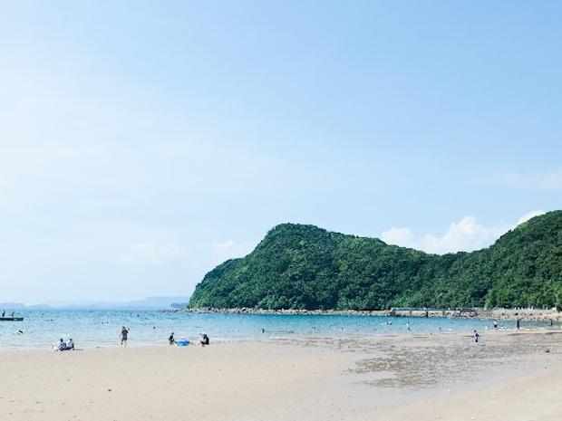 俵ヶ浦半島の砂浜
