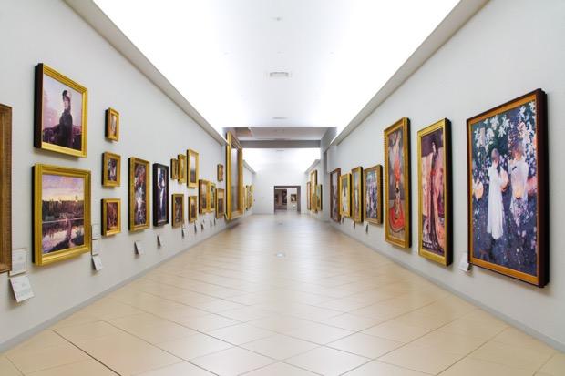 〈大塚国際美術館〉展示室