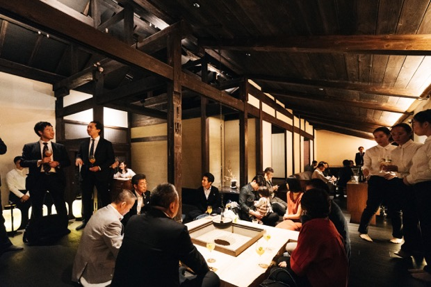 〈武家屋敷 伊東邸〉で行われた〈DENKEN gastronomie〉