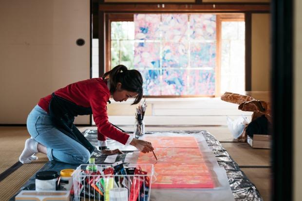 飫肥城下町全体をフィールドとしたアート展示〈DENKEN art〉