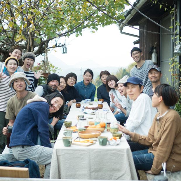 小豆島のお隣の島、豊島にある〈海のレストラン〉のみなさんが来てくれました。こういうつながりを大切にしたい。