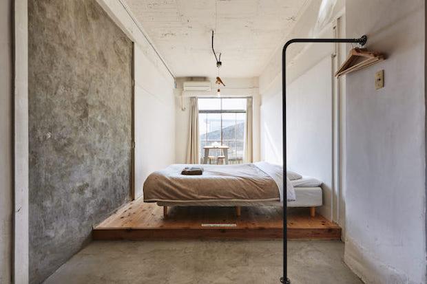 〈HYM Hostel〉の客室