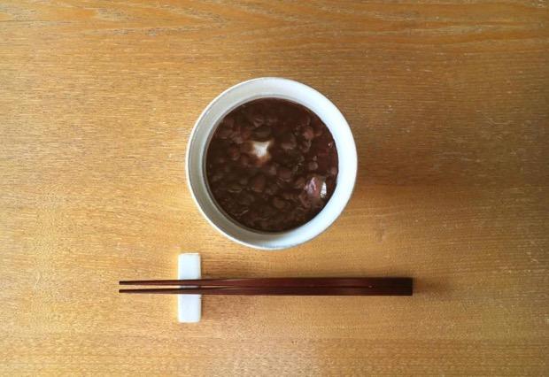 県内産、新米ミヤコガネの餅を使った冬季限定メニュー