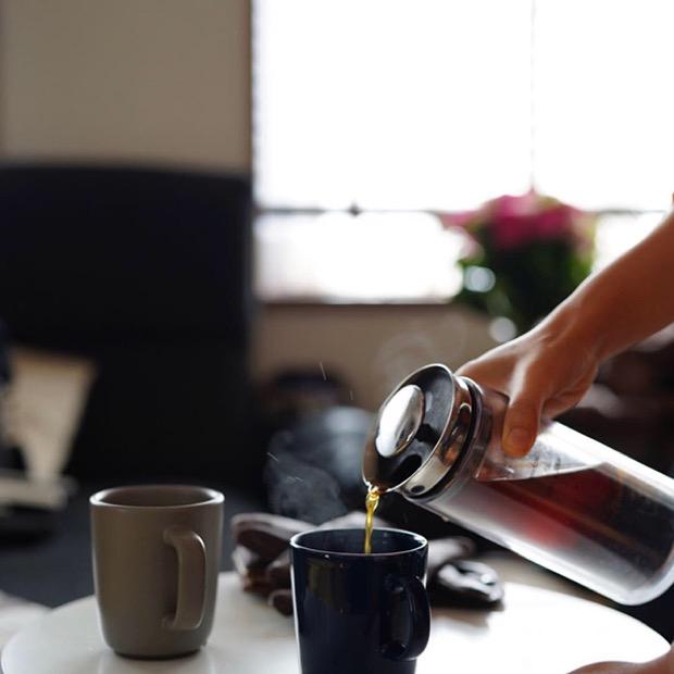 コーヒー器具が幅広く揃う
