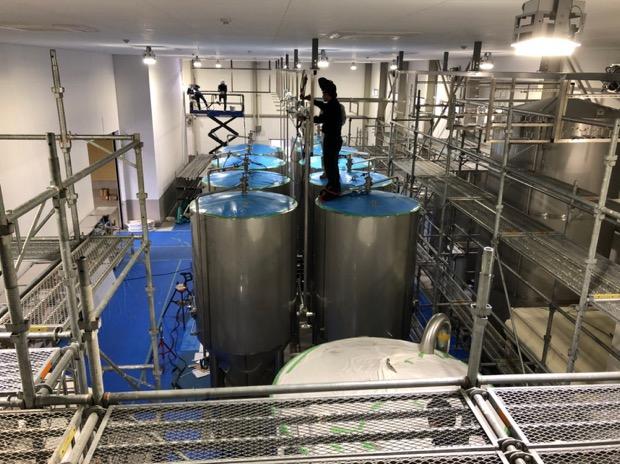 ドイツ・ブラウコン社の最新醸造設備