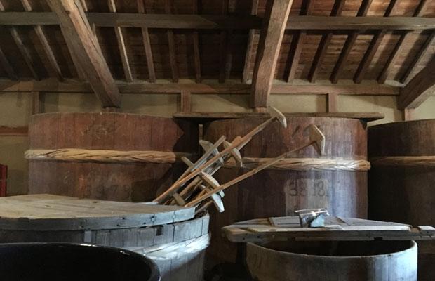 樽もそのまま保管されています。