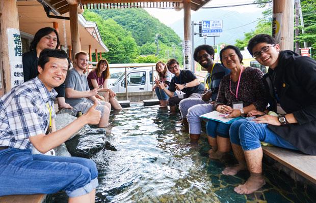 おもに外国人向けに日光の魅力を楽しんでもらうツアーも企画。(写真提供:Kuriyama Go Travel)