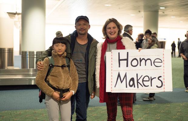 アメリカのポートランドに着いた日。滞在するAirbnbのホストが空港まで迎えにきてくれました。
