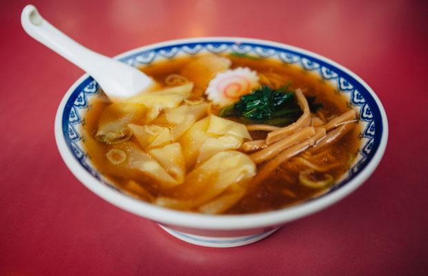 邦栄堂製麺の中華麺は、鎌倉市内の飲食店を中心に卸されている。製麺所から最寄りの卸先は大町2丁目にある中華料理屋〈はぶか〉。