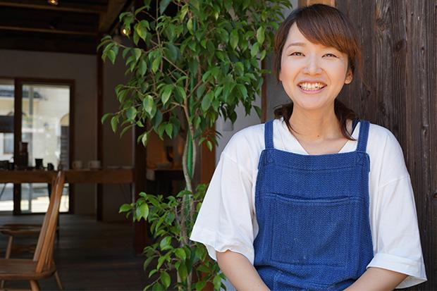 店長の藤野 南さん。ふわりとした穏やかな笑顔で迎えてくれる。