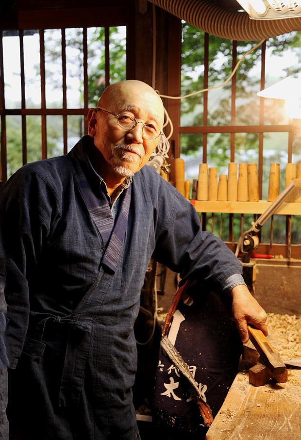 佐藤英太郎さん。