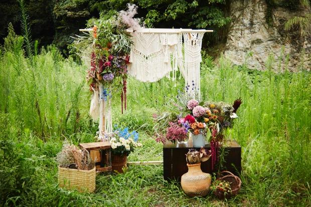 """〈春待ち茶屋by gui flower〉のテーマは""""春の花"""""""