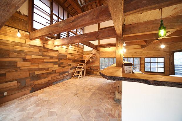 1階のスペース。