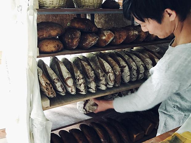 たくさんのパン。