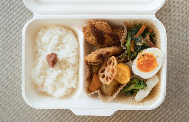 「wagamama弁当」。地元で育てられた食材を丁寧に料理してくれてるのをひしひしと感じます。