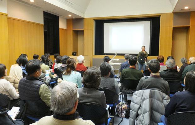 最初に設定した定員は20名だったが、倍の参加者が来てくれた。(写真提供:岩見沢市立図書館)