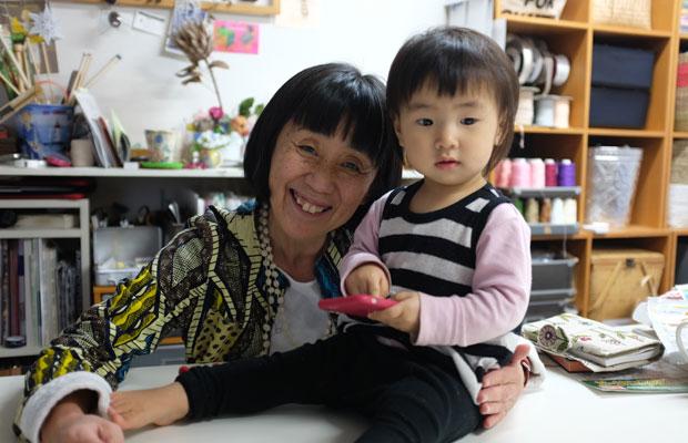 岩切さんのアトリエも訪ねた。7月初旬に札幌で行うイベントについて相談。