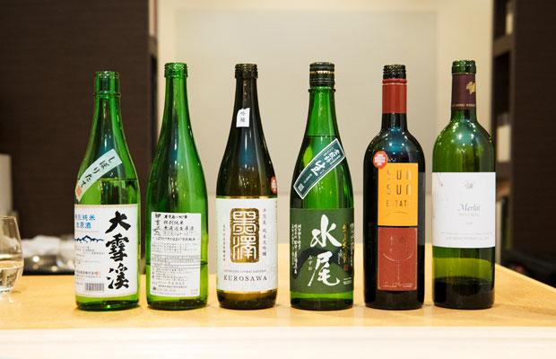 試食会には長野県のお酒やワインも揃い、参加者は料理とのマッチングも楽しんでいました。
