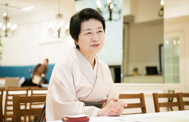 長野県に暮らし、身近な食材や郷土食による食と健康を提唱する横山タカ子さん。主婦の知恵を生かした料理にファン多し。