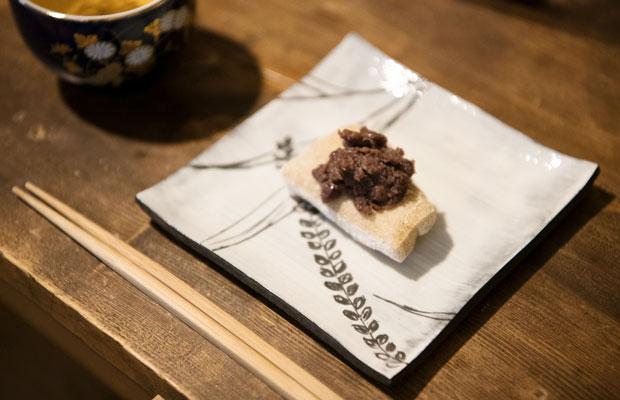 絶品の玄米の餅もあんこも東城さんのお手製。