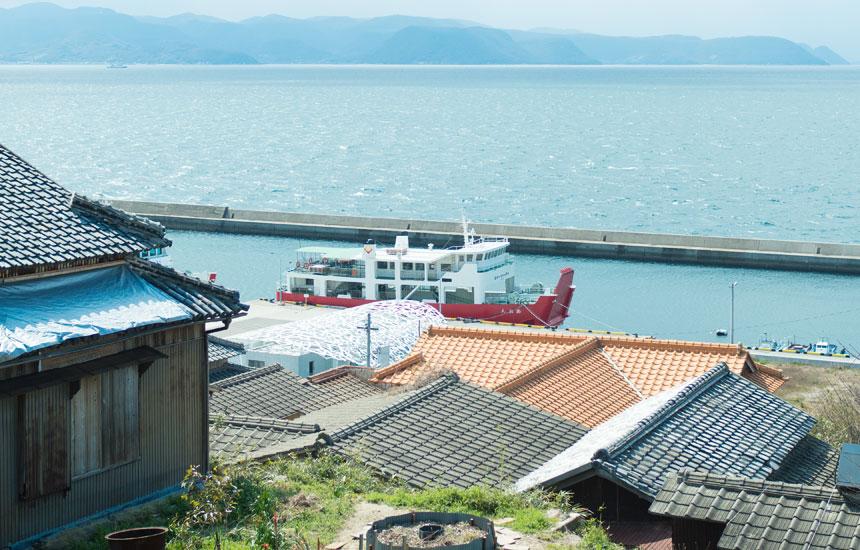小豆島から男木島へ、瀬戸内コミュニティ
