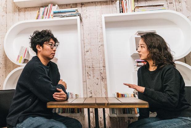 ナカムラケンタさんと高田ほたるさん