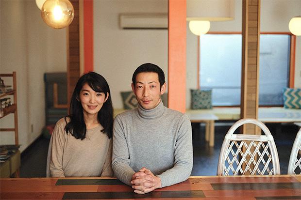 オーナーの田中さんと岡本さん
