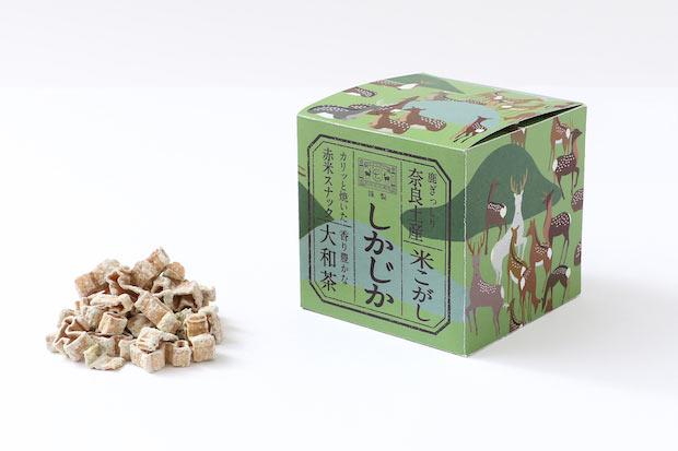 〈大和茶〉税別600円。ほんのり甘く御茶請けにも最適。