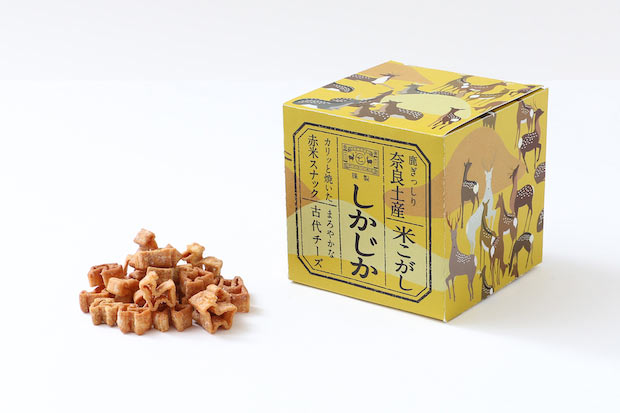 〈古代チーズ〉税別600円。クリーミーで上品な甘さ。