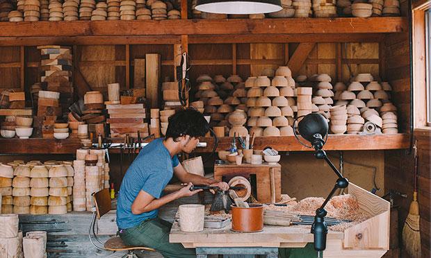 """〈オンリー椀〉。東京・自由が丘で 〈ろくろ舎〉の木地職人と """"自分だけの お椀""""をつくる オーダー会を開催!"""