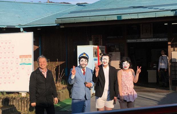 にわかの役者さんとヌーブの太田浩史さん。