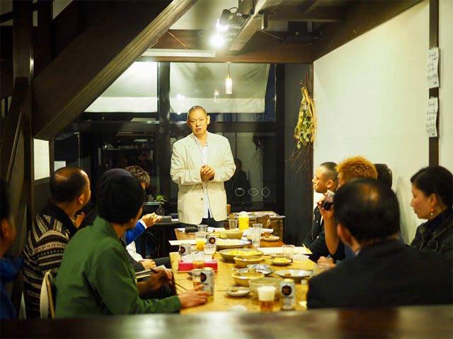 〈ホテルジャパン下田〉の料理長、蜂須賀喜八郎シェフ